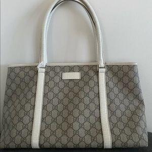 Gucci tote bag Ivory-Beige